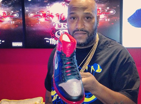 Bun B Showcases Air Jordan 1 LOTS