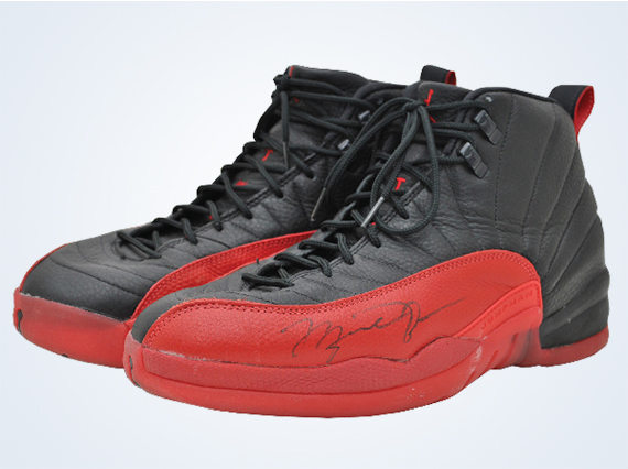 Michael Jordans Air Jordan XII Flu Game