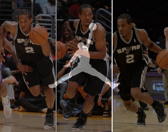 rookies to their first shoe contracts it looks like Kawhi Leonard