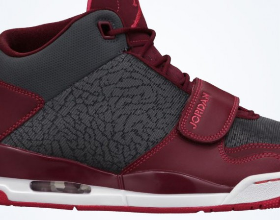 Jordan Flight Club 90s: Dark Grey   Fusion Red   Team Red