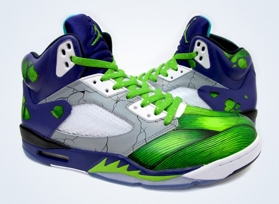 Air Jordan 5: Smash Customs by Sekure D