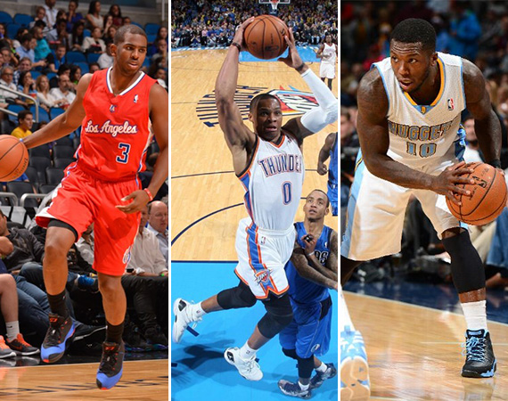 NBA Jordans on Court: Around The League   11/06   11/07