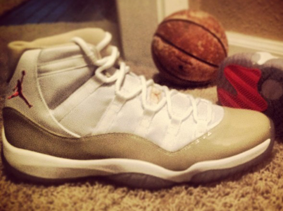 Josiah Lake Showcases Air Jordan XI Ray PE