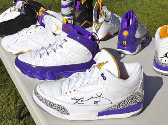 Kobe Bryant Air Jordan Retro PE Collection by DependableJay