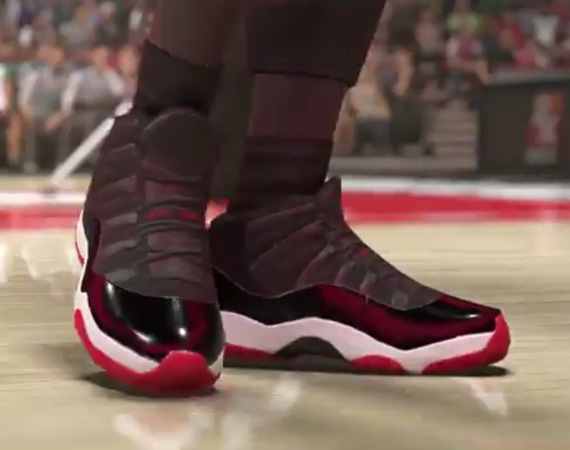 Michael Jordan Picks His Favorite Pair of Air Jordans and More with NBA 2K14