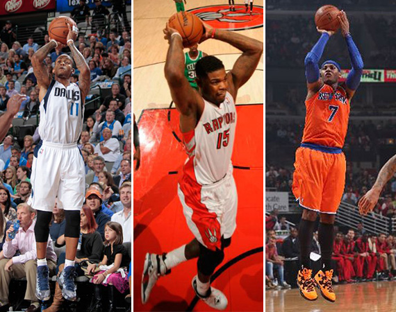 NBA Jordans on Court: Around The League   10/30   10/31
