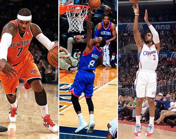 NBA Jordans On Court: Weekend Recap   11 15   11/17