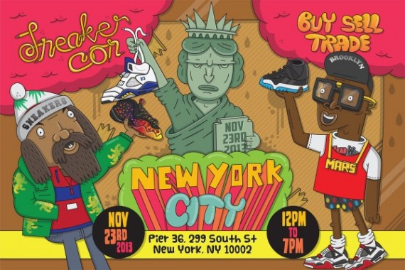 Sneaker Con NYC November 23, 2013 – Event Reminder
