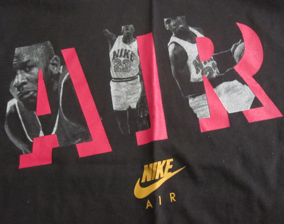 Vintage Gear: Retro Nike Air Graphic T Shirt