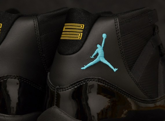 Air Jordan XI Retro: Black   Gamma Blue   Varsity Maize