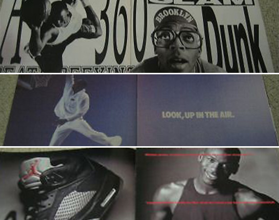 Vintage Gear: Nike Air Jordan Retro Magazine Advertisements