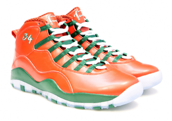 Air Jordan 10 & Air Jordan 16 Christmas PEs for Ray Allen