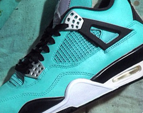 Air Jordan IV: Tiffany Customs by Mache