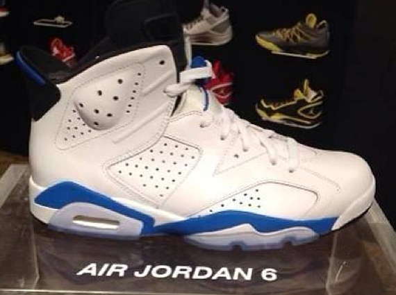 Air Jordan 6 Blue White