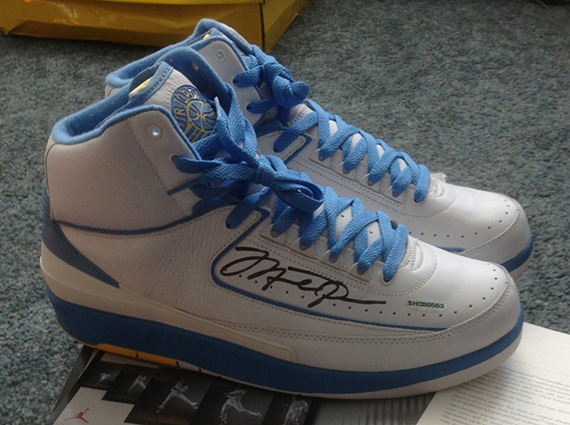 Air Jordan 2: Melo   Michael Jordan Autographed Pair on eBay