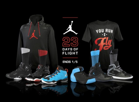 "635fd19cf0fd Jordan Brand and Foot Locker have connected for their ""23 Days of Flight""  which launched today to celebrate the upcoming Jordan Melo M10 release."