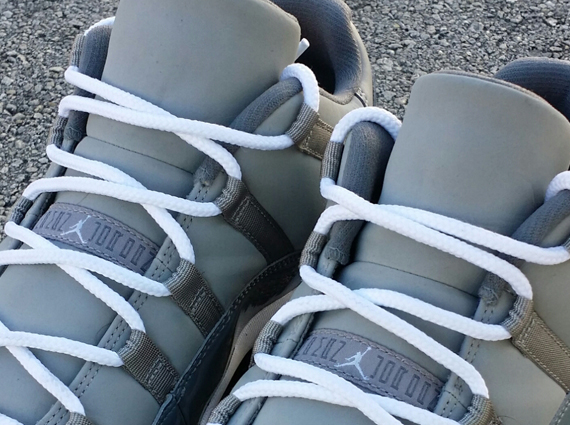 Air Jordan 11 Low: Cool Grey PE for Michael Jordan