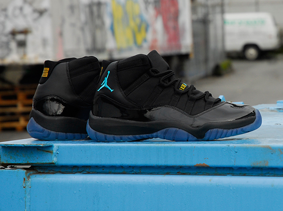 Air Jordan 11: Gamma Blue   Release Reminder