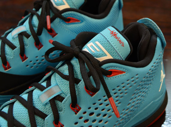 Jordan CP3.VII: Gamma Blue   Black   Gym Red