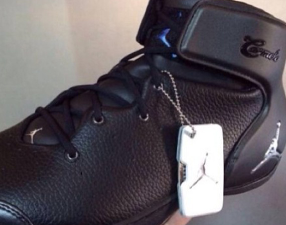 Jordan Melo 1.5: Black Leather