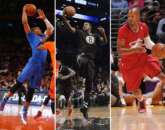 NBA Jordans on Court: Christmas Day 2013 Recap