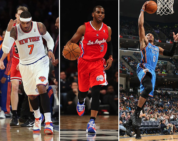 NBA Jordans On Court: Around The League   12/11   12/12