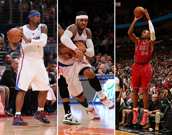 NBA Jordans on Court: Around the League   12/16   12/17