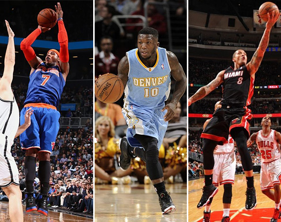 NBA Jordans On Court: Around The League   12/03   12/04