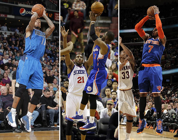 NBA Jordans On Court: Around The League   12/09   12/10