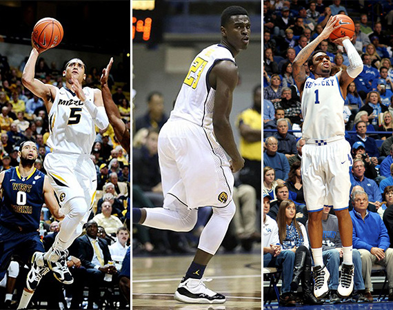 NCAA Jordans On Court: Around The Nation   12/05   12/11