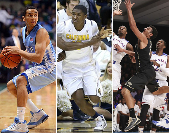 NCAA Jordans on Court: Around the Nation   11/28   12/04