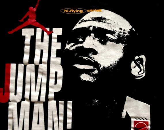 Vintage Gear: Air Jordan The Greatest Ever T Shirt