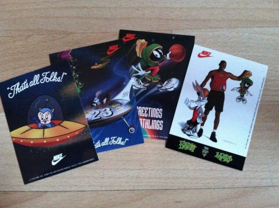 Vintage Gear: Air Jordan VIII x Looney Tunes Sticker Set