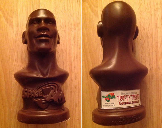 Vintage Gear: Space Jam Michael Jordan Chocolate Statue