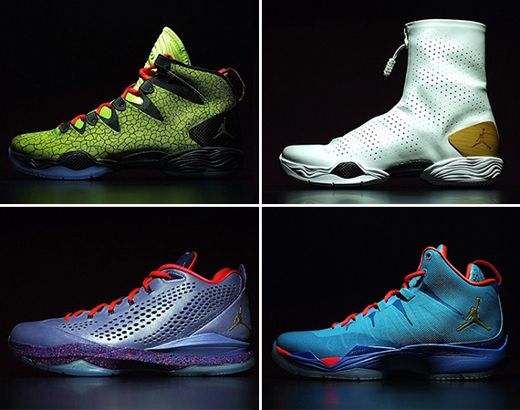 Jordan Brand Reveals 2014 All Star Pack