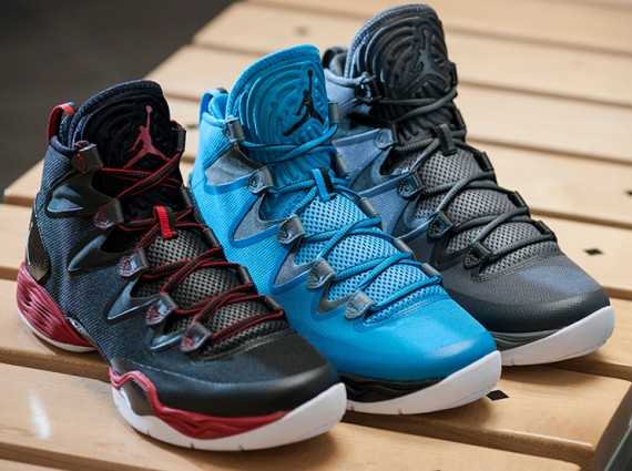 Three brand new colorways of the Air Jordan XX8 SE head to retailers  tomorrow, February 1st, 2014. The shoe has seen a resurgence on the feet of  Kahwi ...