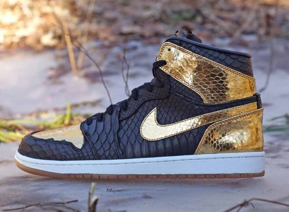 Air Jordan 1: New Years Eve Python for Marcus Jordan by JBF Customs