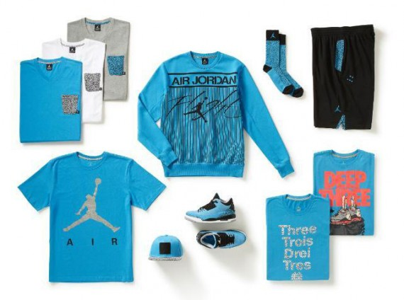 """83aa0a87f65 The Air Jordan III """"Powder Blue"""" will hit retail shelves this Saturday.  Whether you like the shoe or not – it s untraditionally loud dark powder  blue upper ..."""
