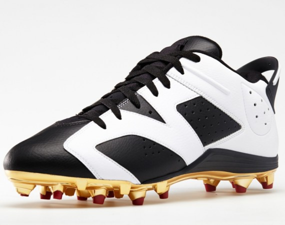 Air Jordan 6 Cleats: Michael Crabtree & Earl Thomas PEs