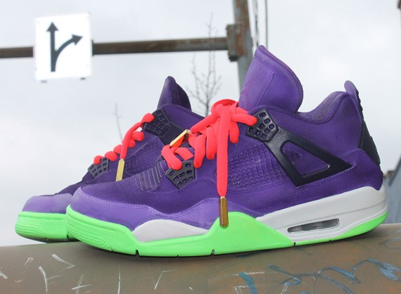 Air Jordan 4: Cheetah Yeezy Custom by Hippie Neal