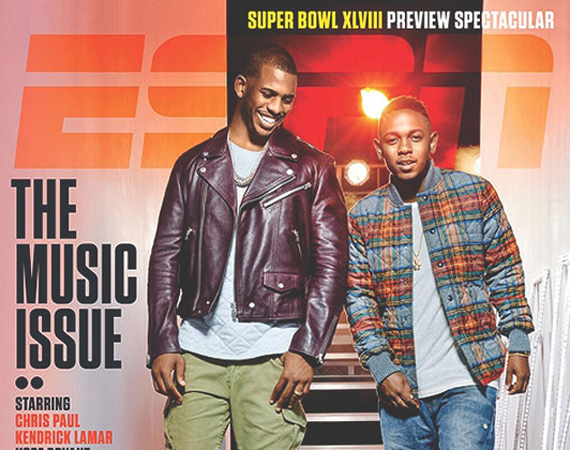 Jordan Brand Athlete Chris Paul Covers ESPNs The Music Issue