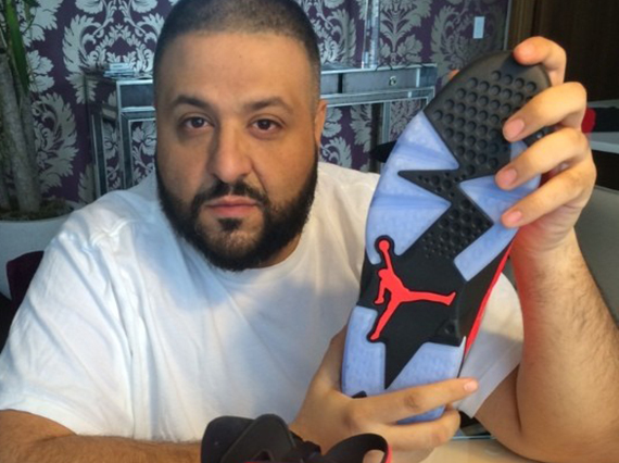 DJ Khaled Showcases Air Jordan 6 Infrared 23