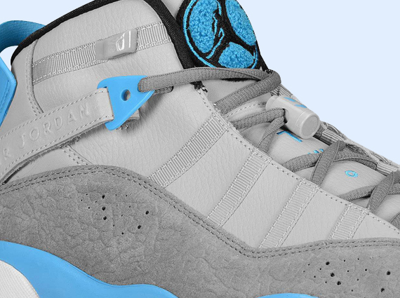 Jordan 6 Rings: Wolf Grey   Black   Cool Grey   Dark Powder Blue