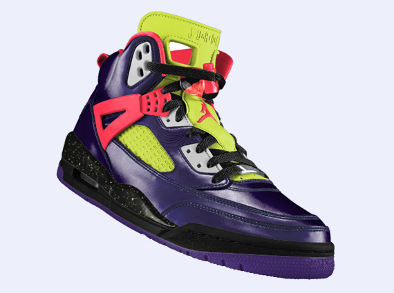 NIKEiD Jordan Spizike: Chroma and Metallic Elephant Print Options