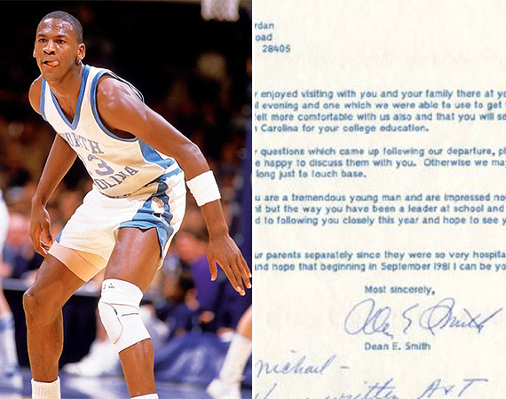 Michael Jordans Mom Disputes Authenticity of UNC Recruitment Letters