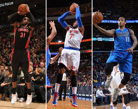 NBA Jordans on Court: Weekend Recap   1/10   1/12