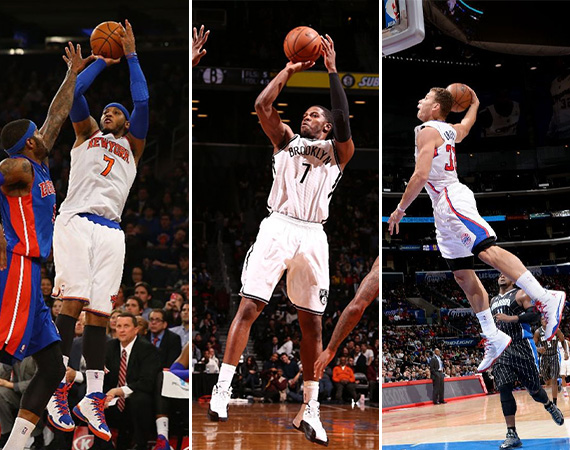 NBA Jordans on Court: Around the League   1/06   1/08