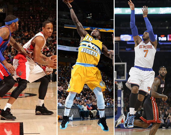NBA Jordans on Court: Around the League   1/08   1/09