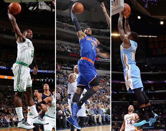 NBA Jordans on Court: Weekend Recap   1/03   1/05