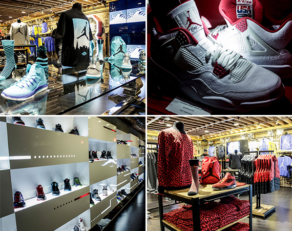Shiekh Shoes San Francisco Opens Jordan Legacy Level